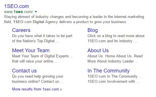 1seo-site-links