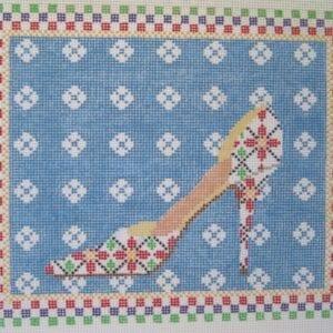 Christmas Waltz Needlepoint Canvas