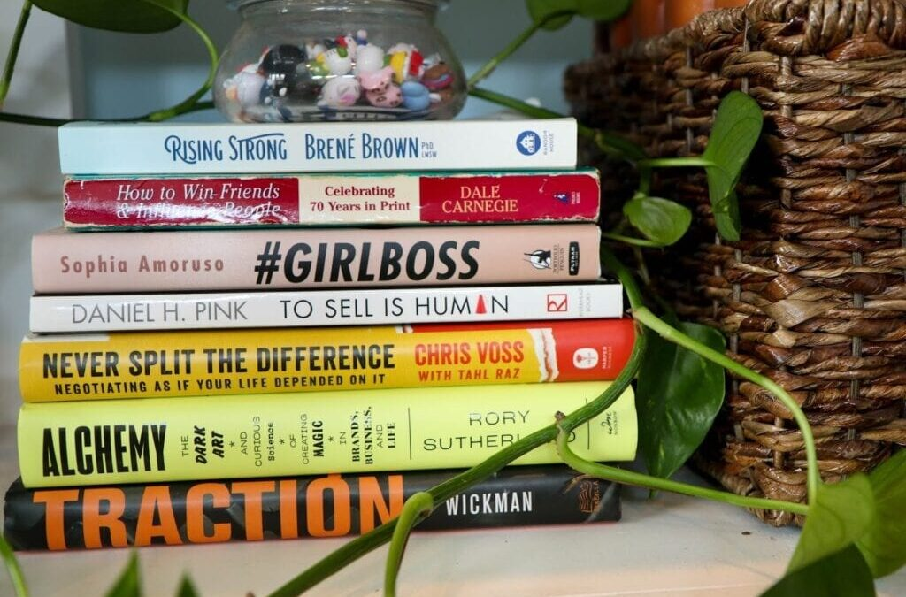 Three Business Books that Changed How I Tackle My Business