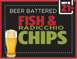 Salad for Adults - Beer Fish and Chips