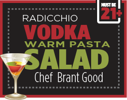 Salad for Adults - Vodka Pasta Salad