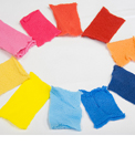 Fabrics dyed without water in supercritical system
