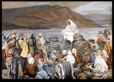 Jesus began to preach