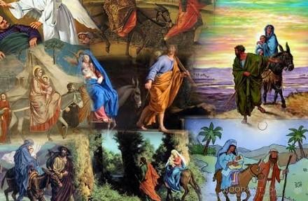Lord appeareth to Joseph in a dream