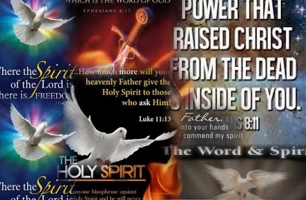 The words that I speak unto you, they are spirit