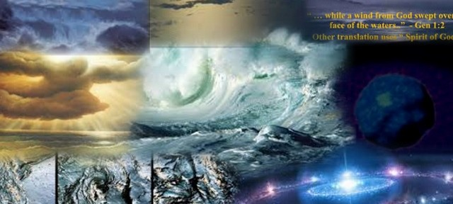 Spirit of God moved upon the face of the waters