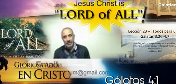 He be lord of all