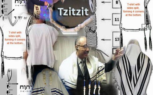 Tallit, tzitzit, fringes and tassels
