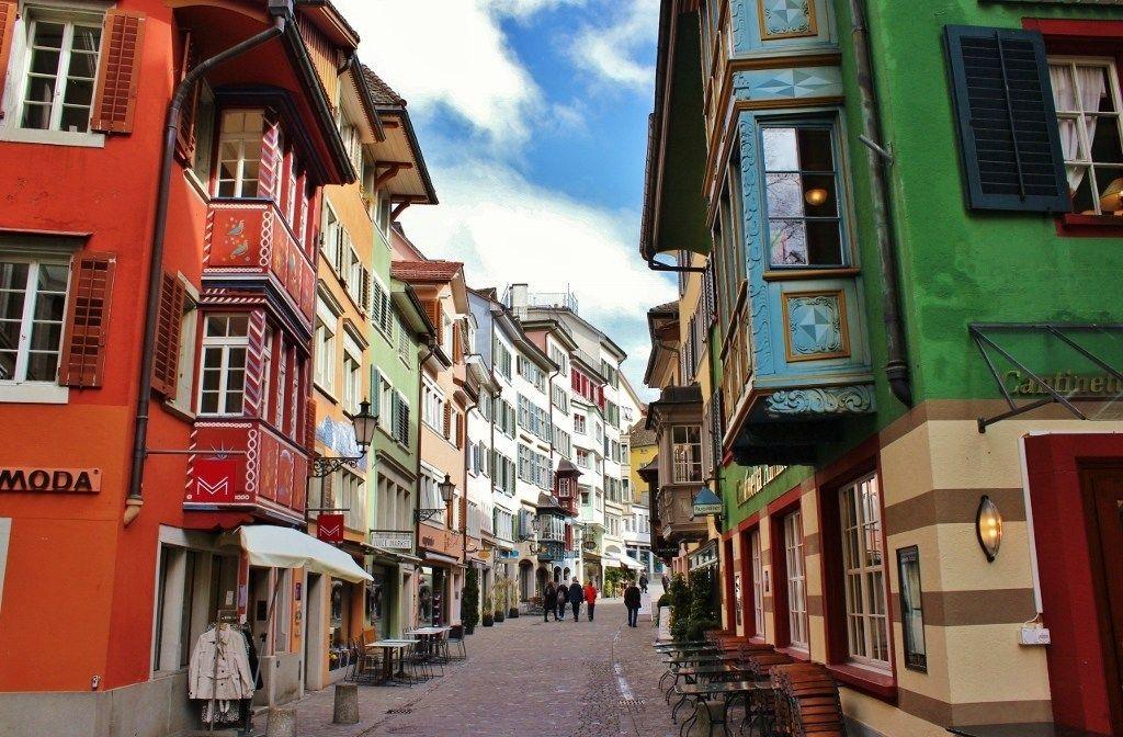 Zurich Old Town 1