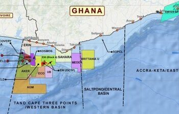 Location of West Cape Three Points Block 2 (Source: Petroleum Commission Ghana)