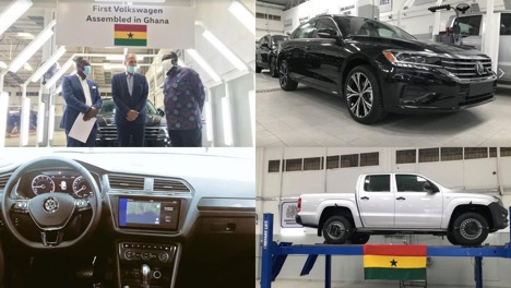 Ghana is now home to some of the world's renowned vehicle manufacturers