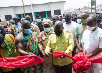 President Akufo-Addo commissions 204 housing units, constructed in 9-months