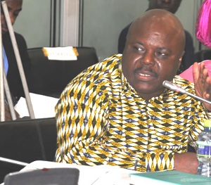 Deputy Minister for Energy Joseph Cudjoe highlighted the benefits of the proposed petroleum hub during the second reading of the bill on Tuesday