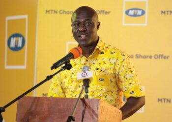 Eli Hini is the CEO for Mobile Financial Services at MTN Ghana