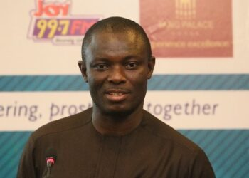 Kwaku Kwarteng, Chairman of Parliament's Finance Committee