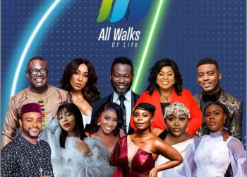 The cast of All Walks of Life