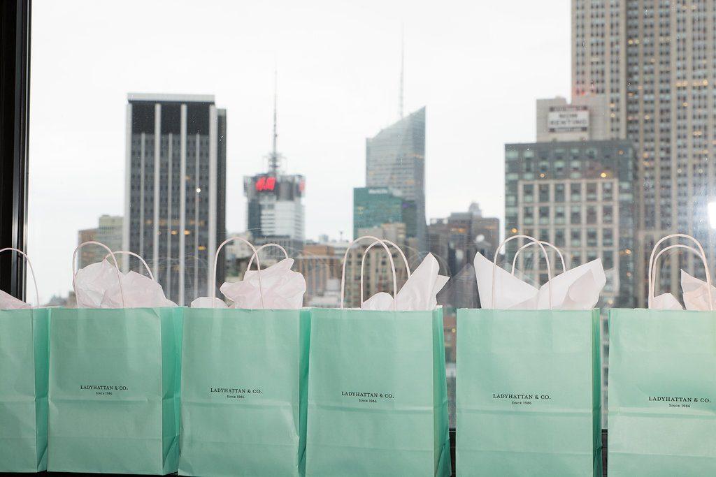 Ladyhattan Luxury Travel Celebrations Manhattan NY Rooftop Birthday Party Tiffanys Decor Tara Moss