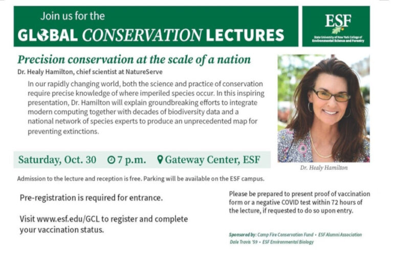 Inaugural Presentation of the Global Conservation Lecture Series