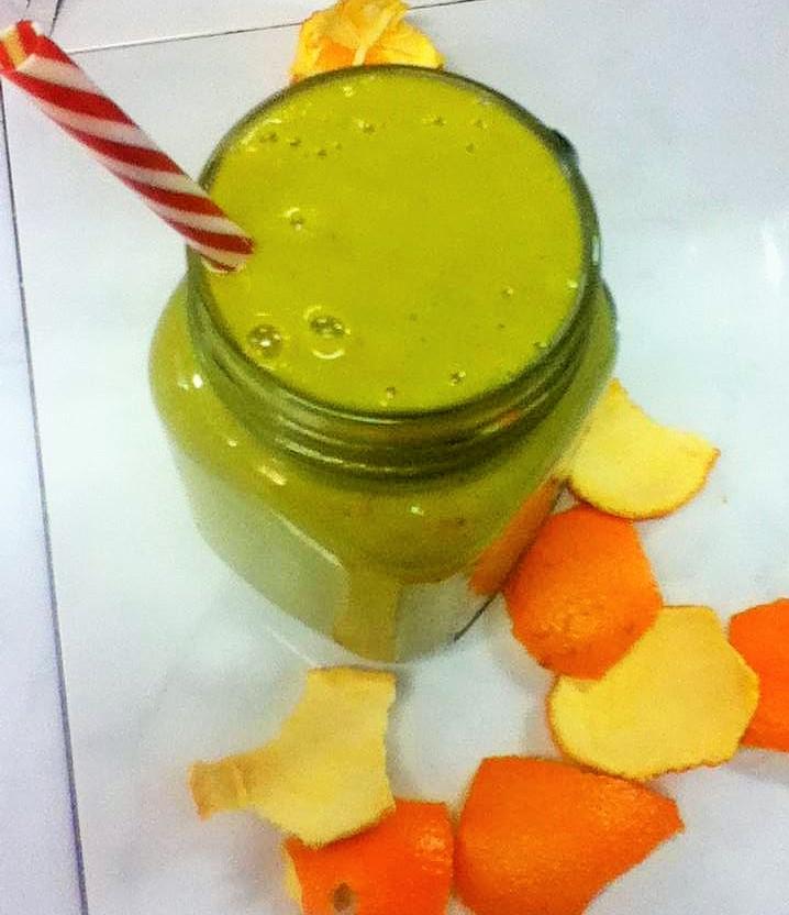 green zest smoothie