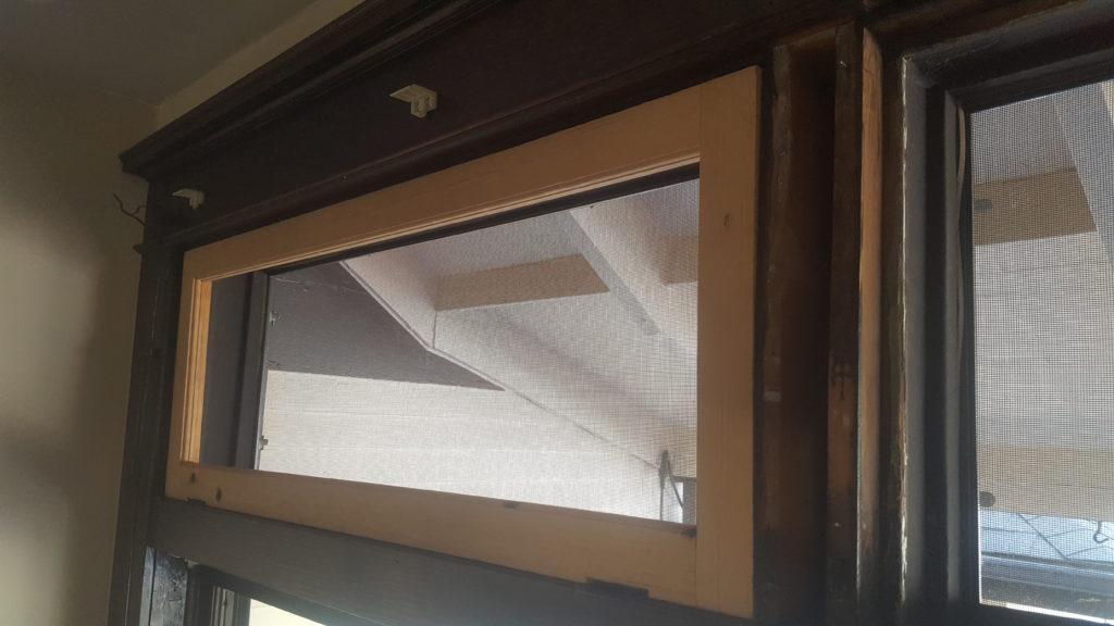 full rebuilt transom windows