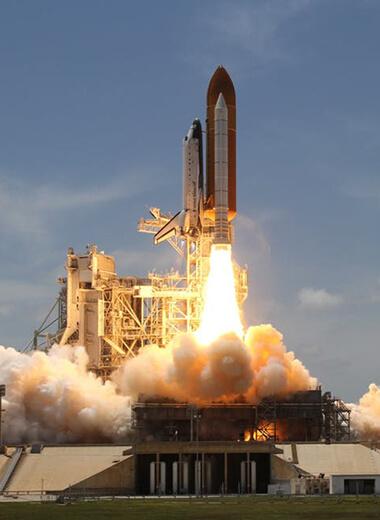 Aero space rocket launch