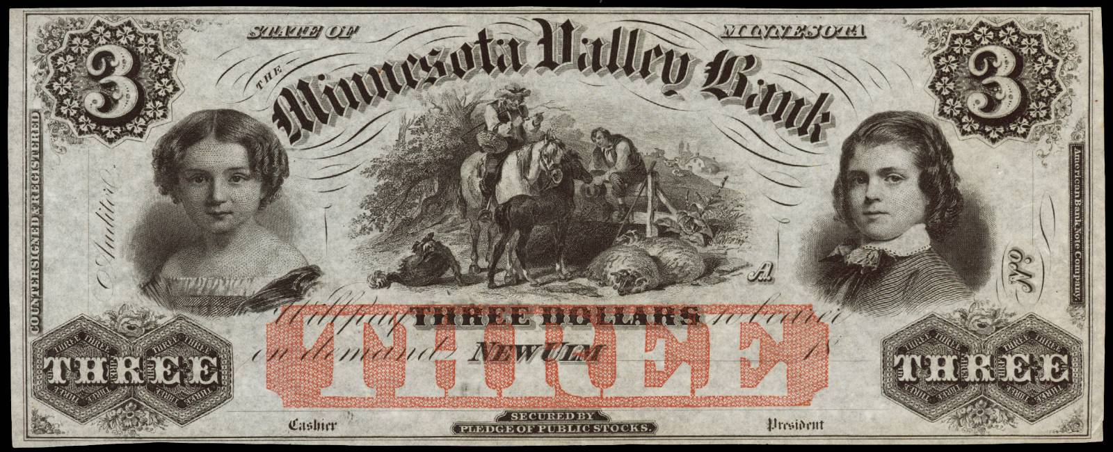 $3 Minnesota Valley Bank