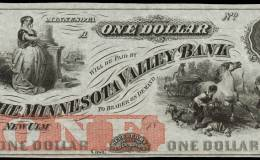 $1 Minnesota Valley Bank