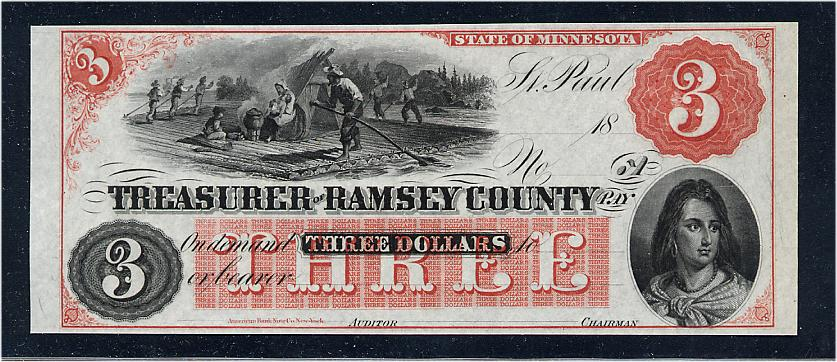 $3 Treasurer of Ramsey County