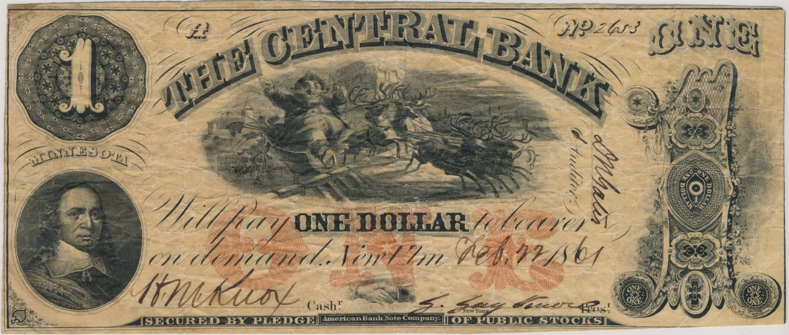 $1 Central Bank