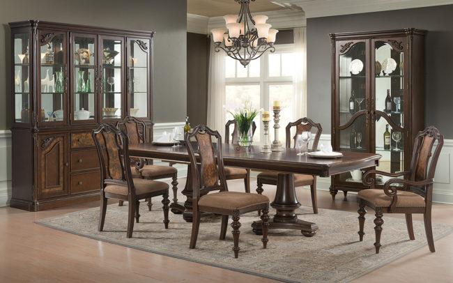 Dining Room Furniture Studio Photo