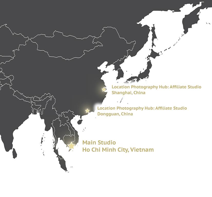 Albion Photography Studios Ho Chi Minh City VN
