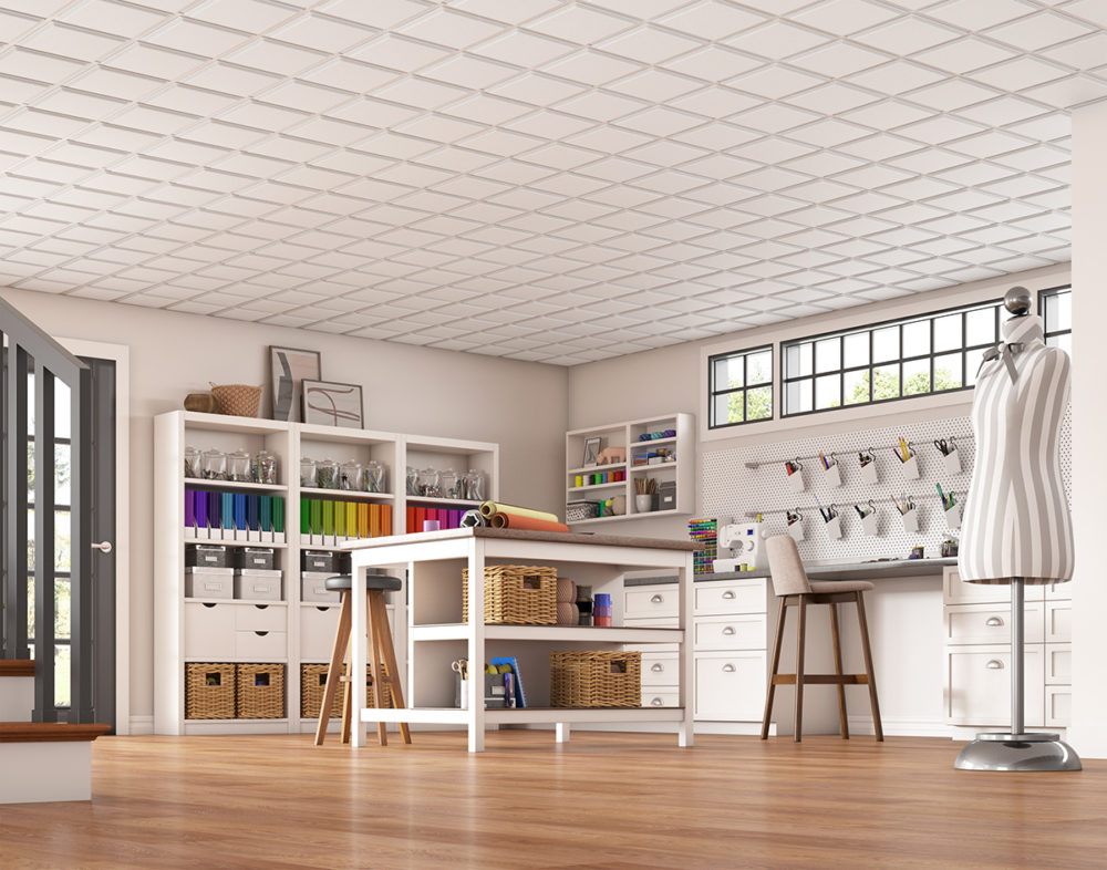 CGI Textured Ceiling Photography