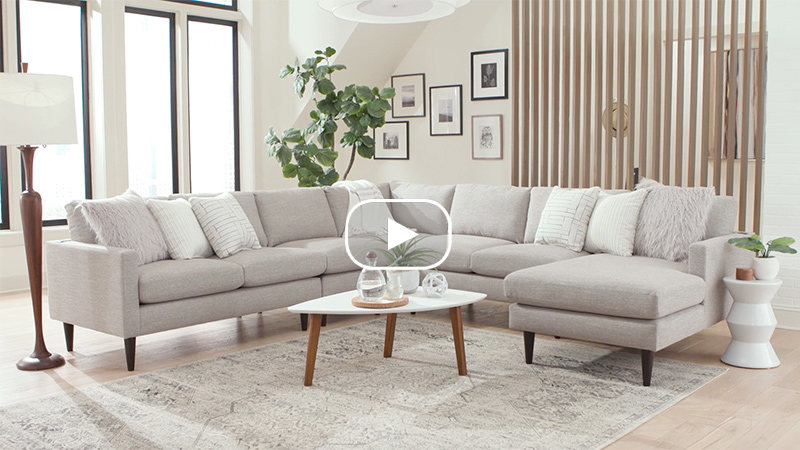Trafton Sectional Product Feature