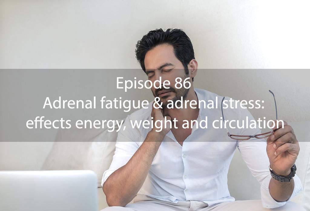 AskDrKan Show – Episode 86: Adrenal fatigue & adrenal stress: effects energy, weight and circulation