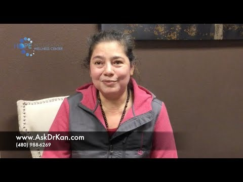 Patient with chronic pain, inflammation is feeling great, off pain pills in 30 days