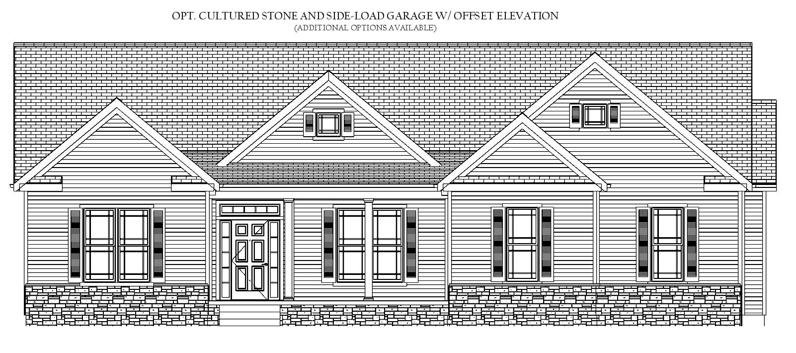 The New Market, Front Elevation