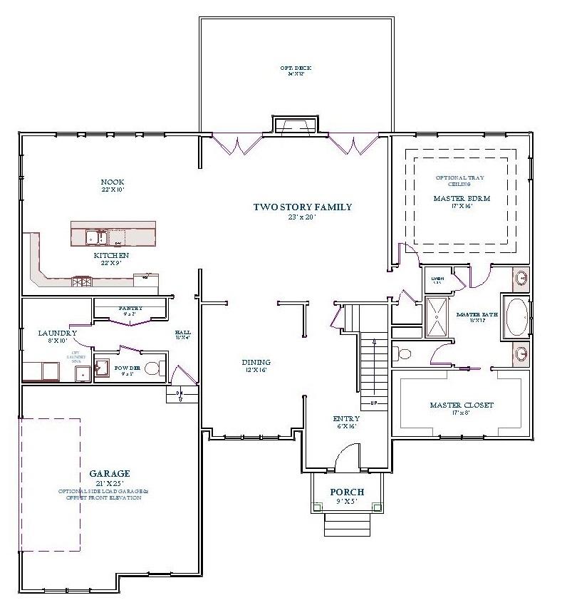 Middleton, First Floor