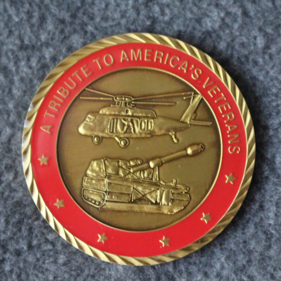 Trail Of Honor Coin Side2