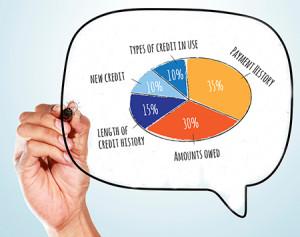 Managing Credit Score Bubble