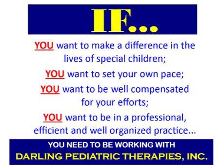 IMMEDIATE NEED for a Speech Therapist