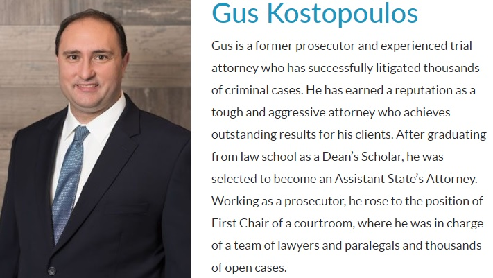 Criminal Defense and Professional Licensing Defense Podcast with Gus Kostopoulos