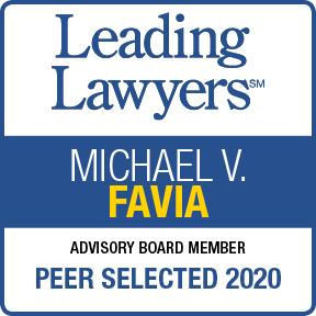 Leading Lawyers Michael V. Favia Peer Selected 2020