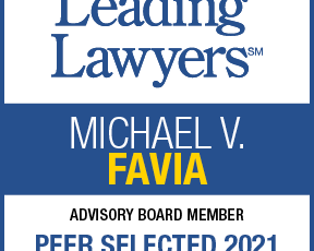 Michael V. Favia is a Peer Selected Leading Lawyers Advisory Board Member for 2021
