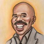 Steve Hardy's Caricature by Brandy