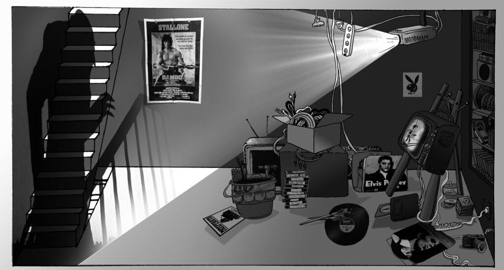 Ali's Isolation Art Space