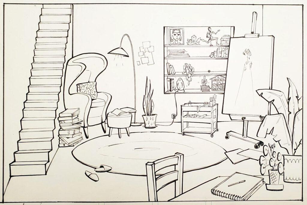 Nanda's Isolation Art Space