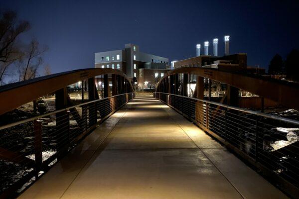 Poudre River Whitewater Park - Pedestrian Bridge