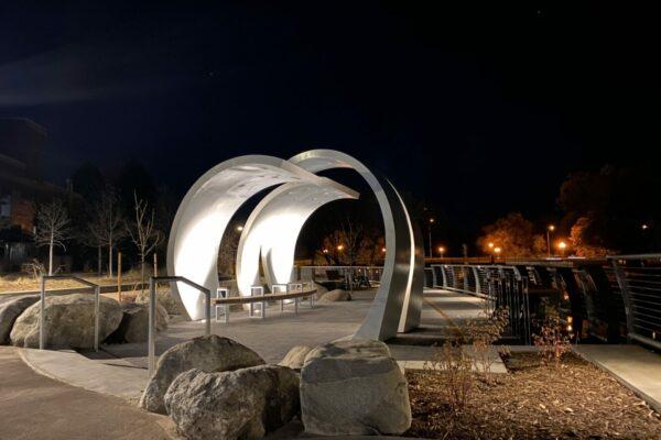 Poudre River Whitewater Park - Upper Plaza