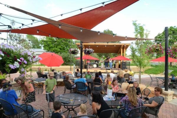 Beer Garden Shade Structures