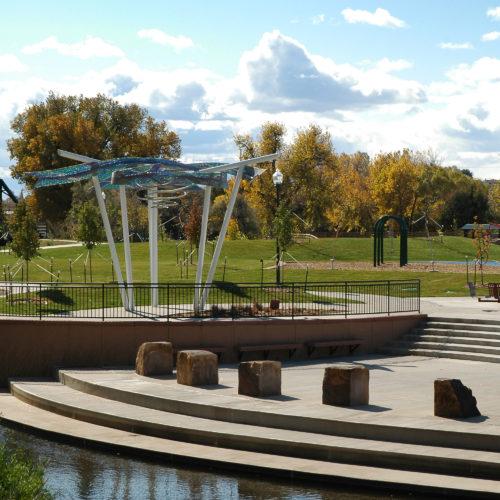 Loveland Fairgrounds Park - River Access Plaza